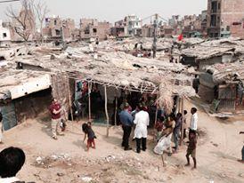 Dehli slums